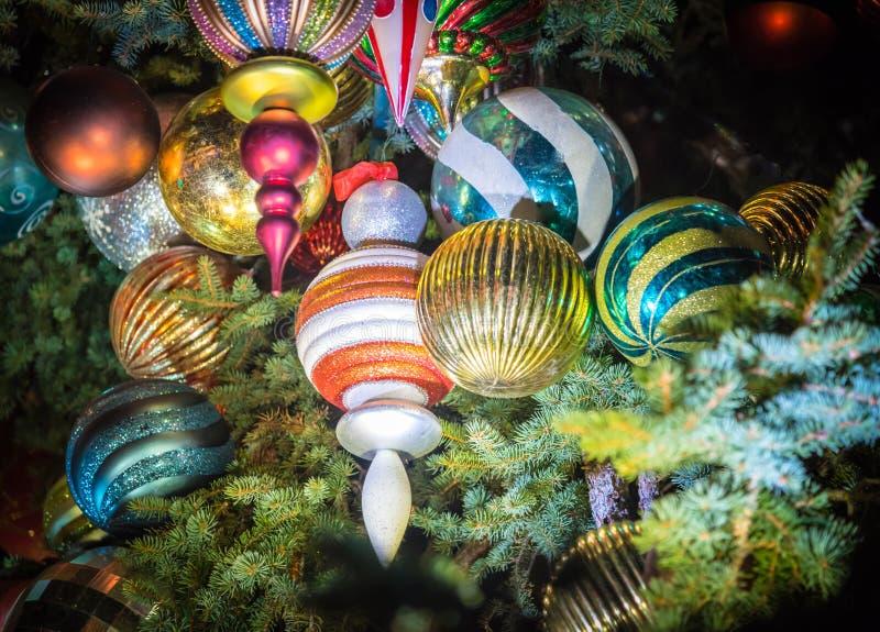 圣诞树玩具 向量例证