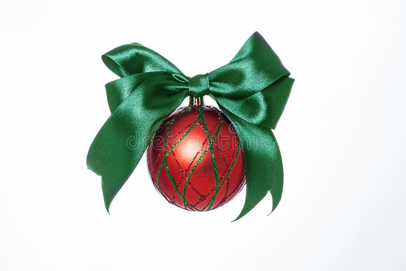 圣诞树的装饰 免版税库存图片