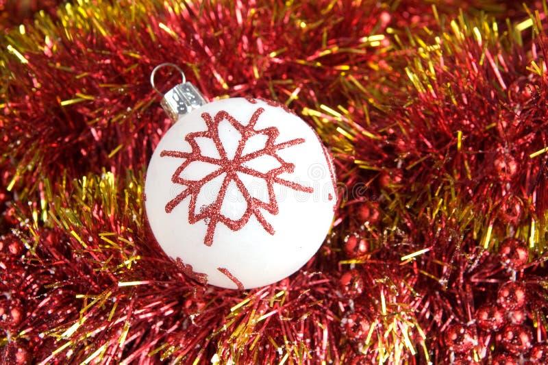 圣诞树装饰品 免版税库存照片