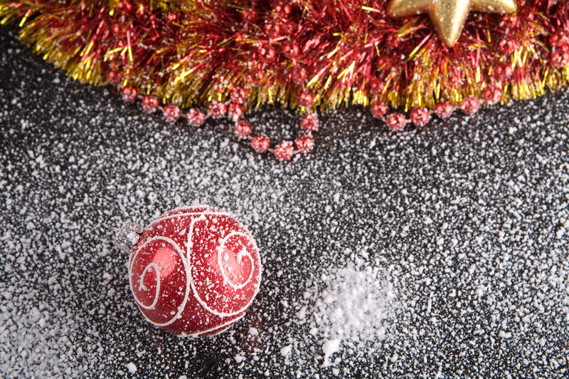 圣诞树装饰品 免版税图库摄影
