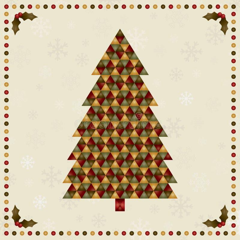 圣诞树装饰 皇族释放例证