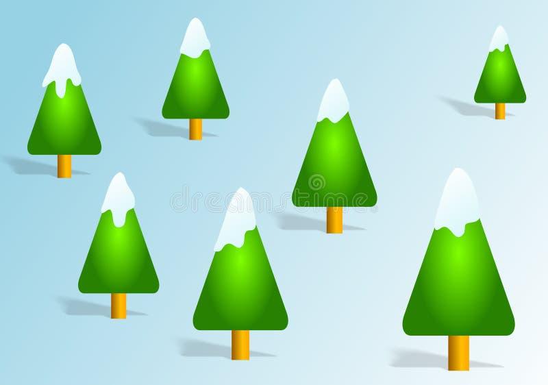 Download 圣诞树 库存例证. 插画 包括有 工厂, xmas, 节假日, 例证, 本质, 森林, 常青树, 冬天, 季节 - 52416