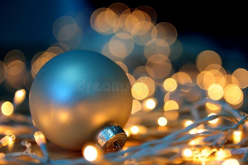 圣诞灯 库存照片