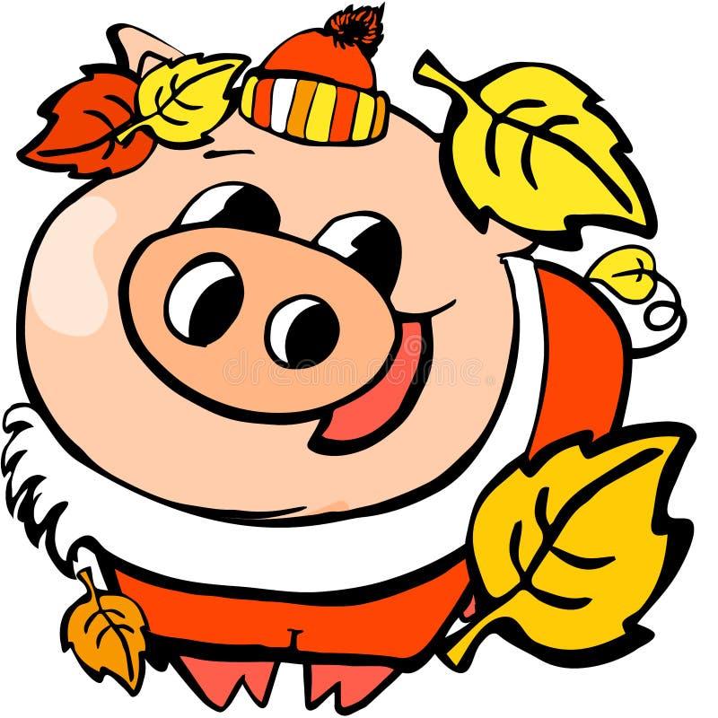 圣诞老人动画片,庆祝,快乐的圣诞节,孩子,设计,中国中国日历新年友谊,乐趣,幸福 皇族释放例证
