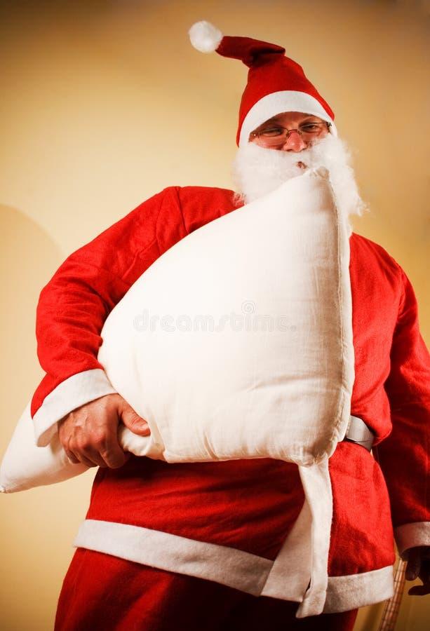 圣诞老人多士 免版税库存照片