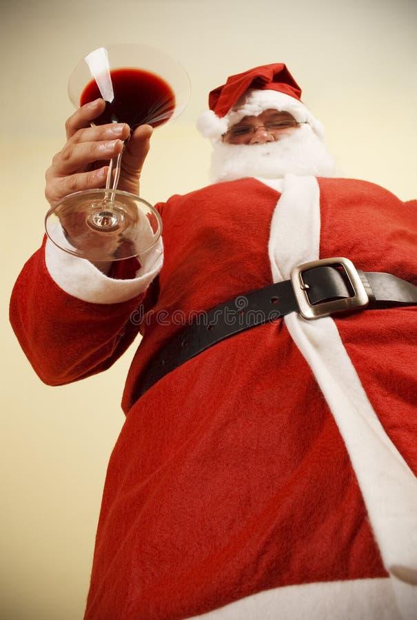 圣诞老人多士 库存照片