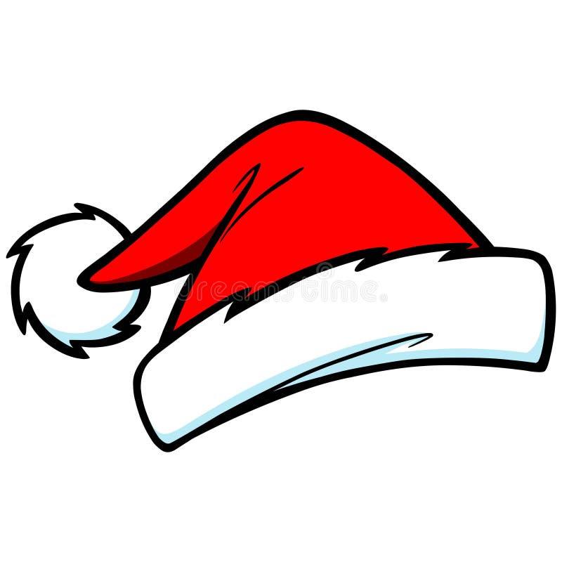 圣诞老人帽子 向量例证