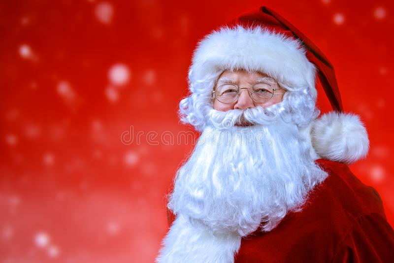 圣诞老人服装 图库摄影