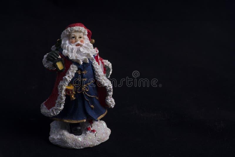 圣诞老人树脂雕象  库存照片