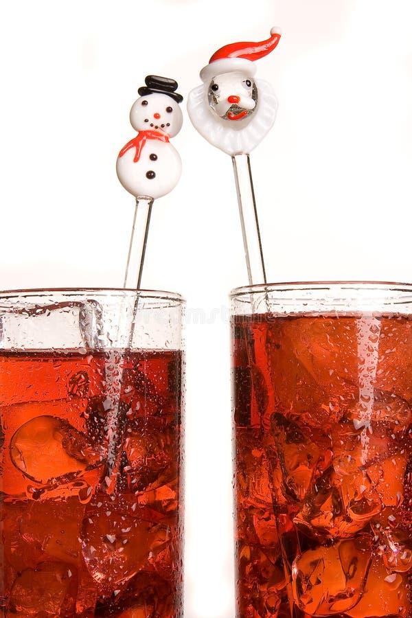 圣诞老人棍子 免版税库存图片