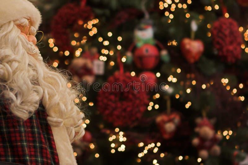 圣诞老人注意 免版税图库摄影