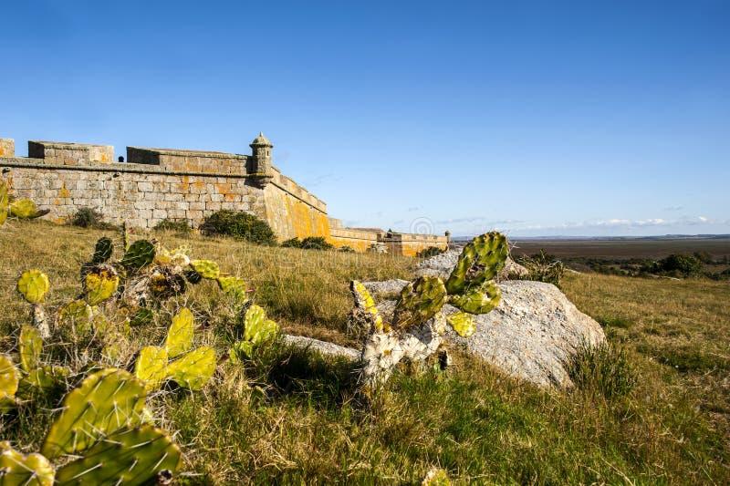 圣诞老人特里萨堡垒。乌拉圭 库存图片