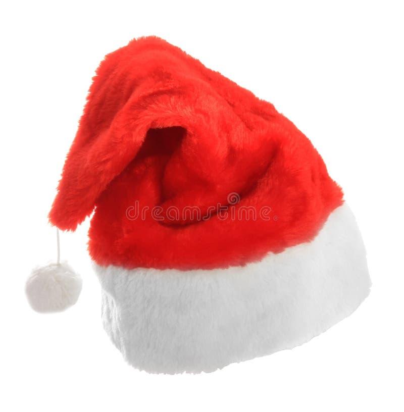 圣诞老人盖帽 免版税库存图片