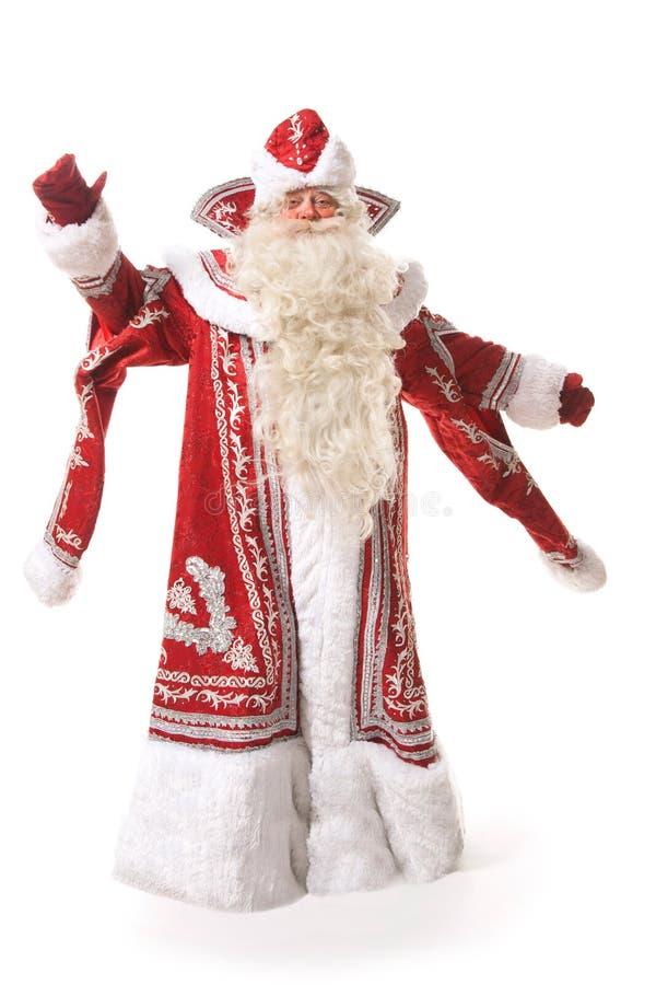 圣诞老人chlaus 免版税库存照片