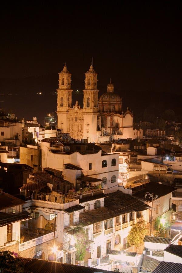 圣诞老人Prisco教会, Taxco 免版税图库摄影