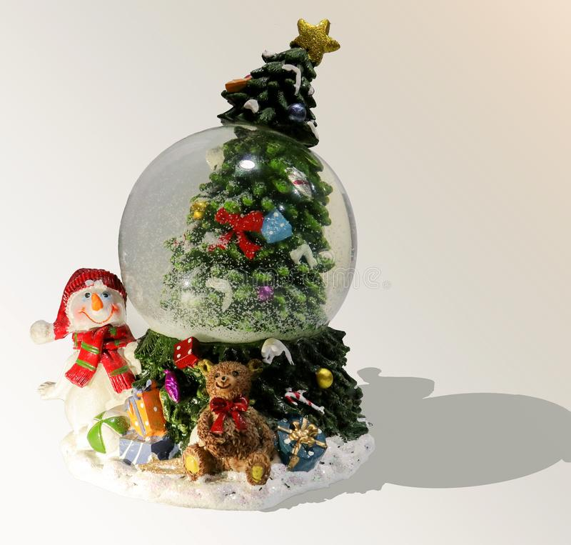 圣诞节不可思议的球 免版税库存图片