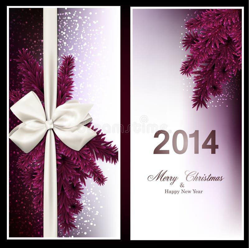 Download 圣诞节与冷杉分支和baw的礼品券 向量例证. 插画 包括有 季节, 可实现, 看板卡, 盖子, 明信片, 节假日 - 62539157
