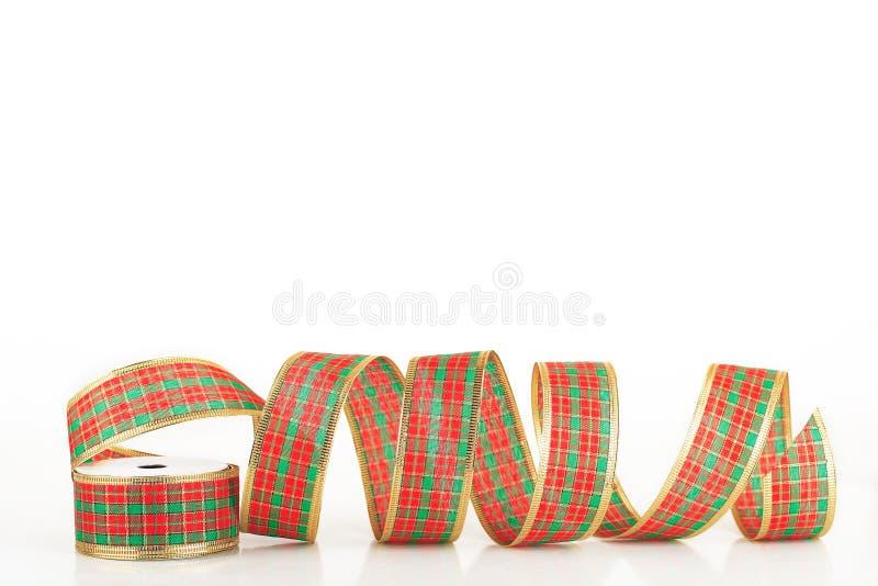 圣诞节丝带 库存图片