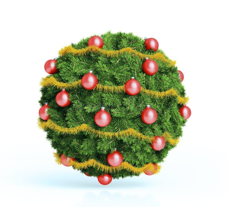 圣诞节中看不中用的物品装饰品 库存例证