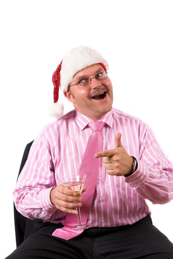 圣诞节乐趣当事人 免版税库存图片