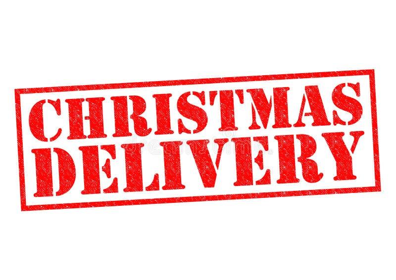 圣诞节交付 库存例证