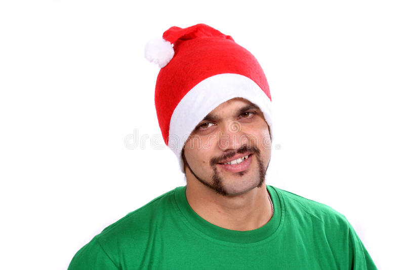 圣诞节人印地安人 库存图片