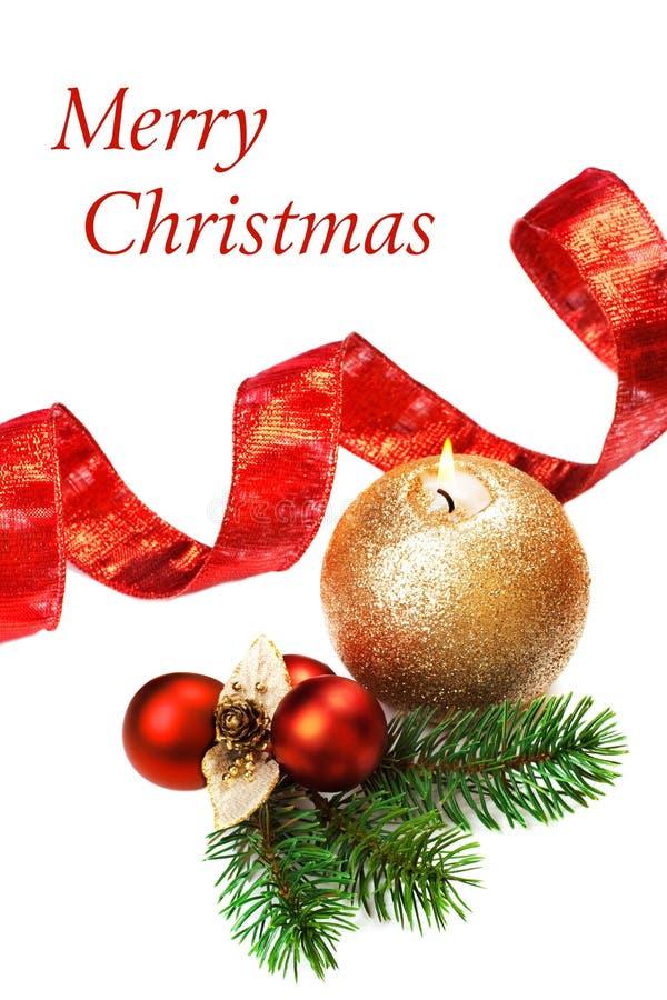 圣诞节仍然装饰生活 免版税库存照片