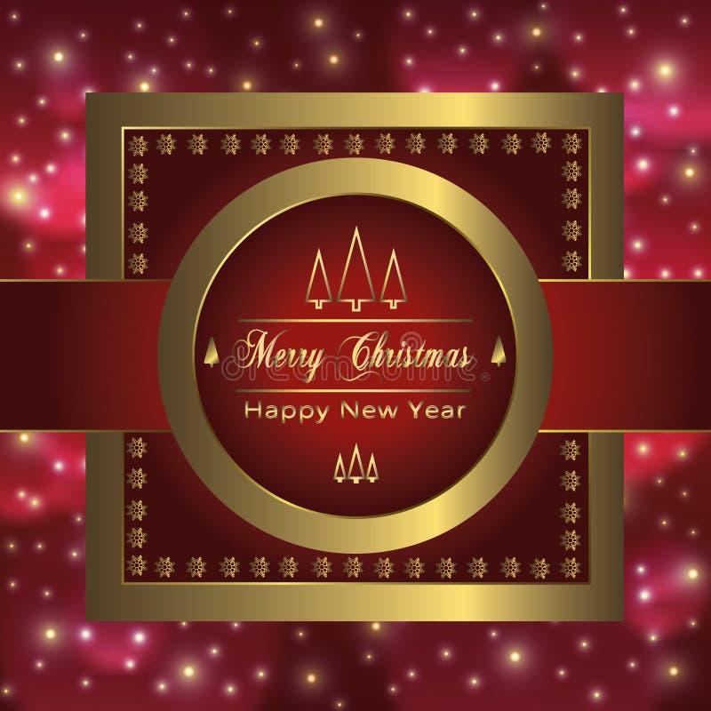 圣诞节假日在豪美的样式-汇集的贺卡设计 皇族释放例证