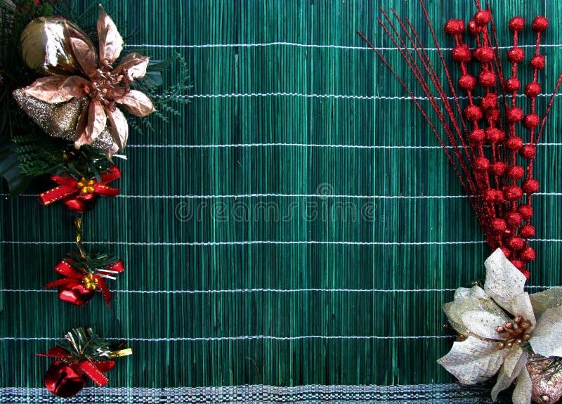 圣诞节假日构成顶视图 圣诞节季节题材 免版税库存照片