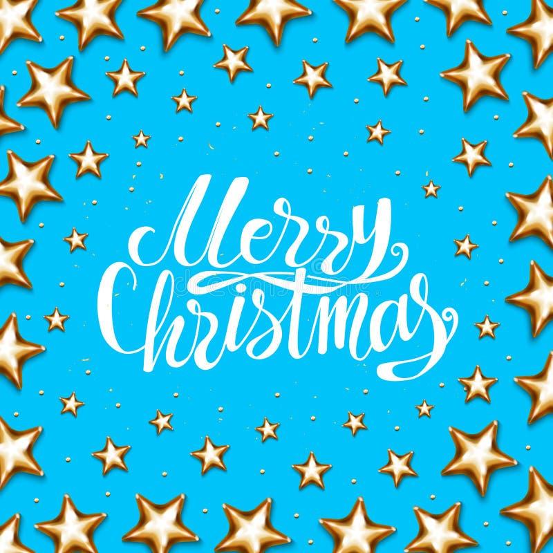 圣诞节假日海报 向量例证