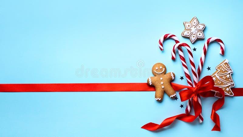 圣诞节假日装饰品舱内甲板位置;圣诞卡背景 图库摄影