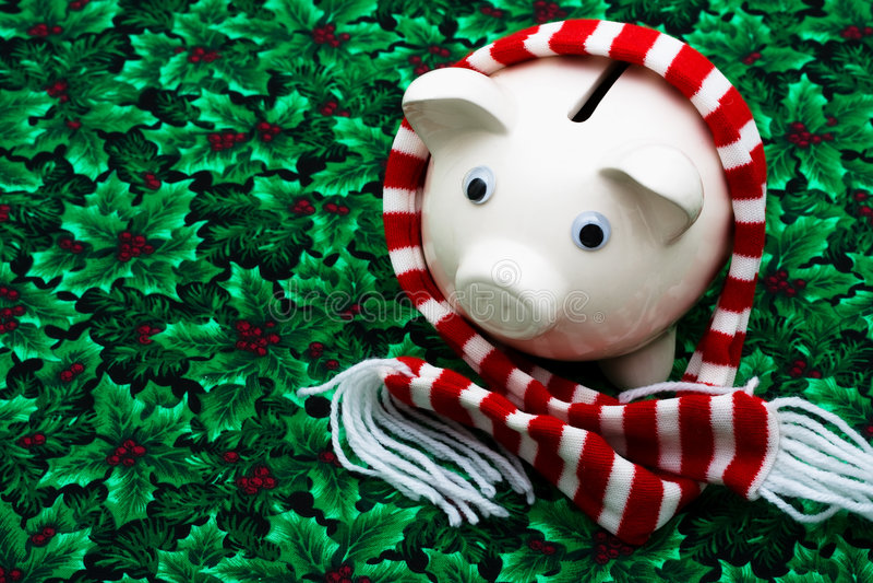 圣诞节储蓄 免版税库存照片