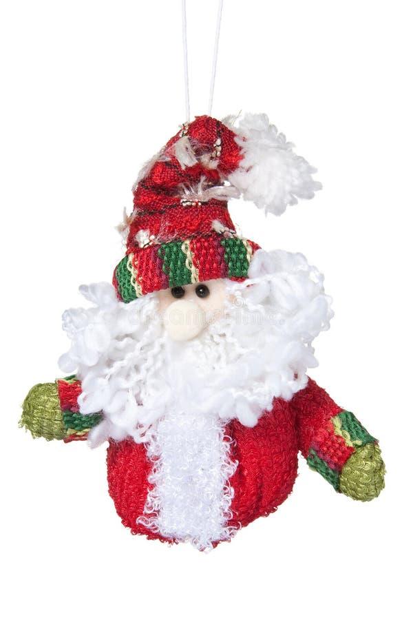 圣诞节克劳斯・圣诞老人玩具 免版税库存照片