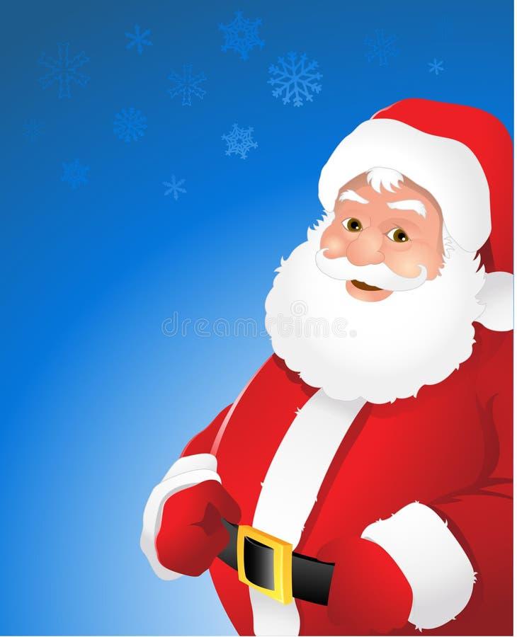 圣诞节克劳斯・圣诞老人 向量例证