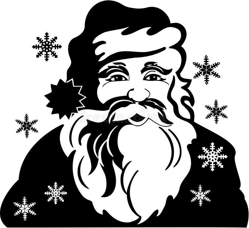 圣诞节克劳斯・圣诞老人 库存例证