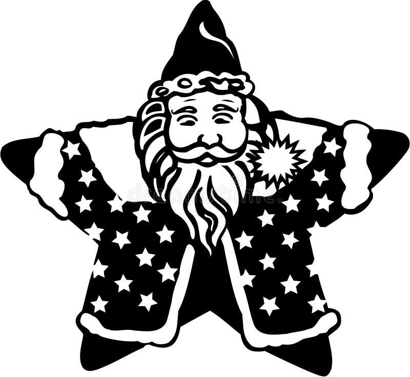 圣诞节克劳斯・圣诞老人 皇族释放例证