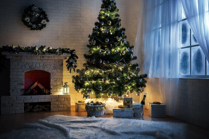 圣诞节内部 图库摄影