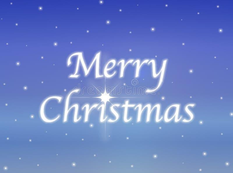 圣诞节发光的快活的符号 皇族释放例证