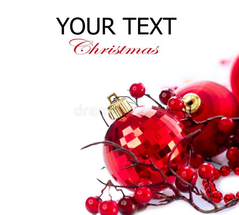 圣诞节和新年度中看不中用的物品 库存图片