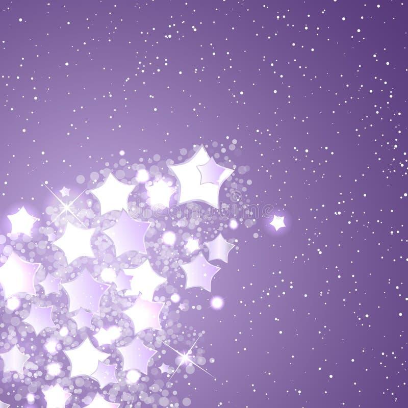 圣诞节和新年度主题抽象 库存例证