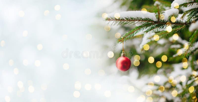 圣诞节和除夕背景 库存照片