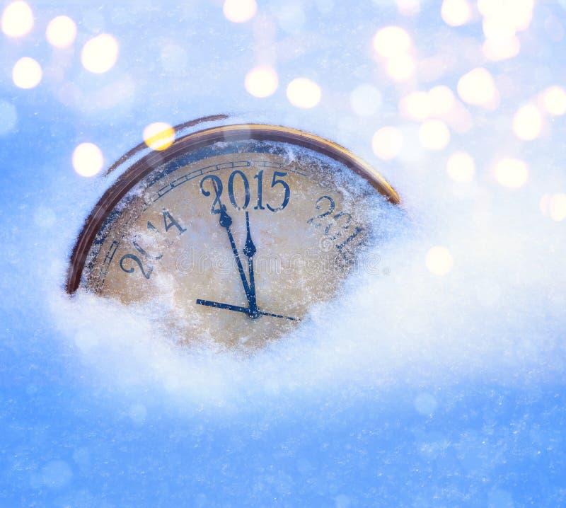 2015年圣诞节和除夕 库存照片