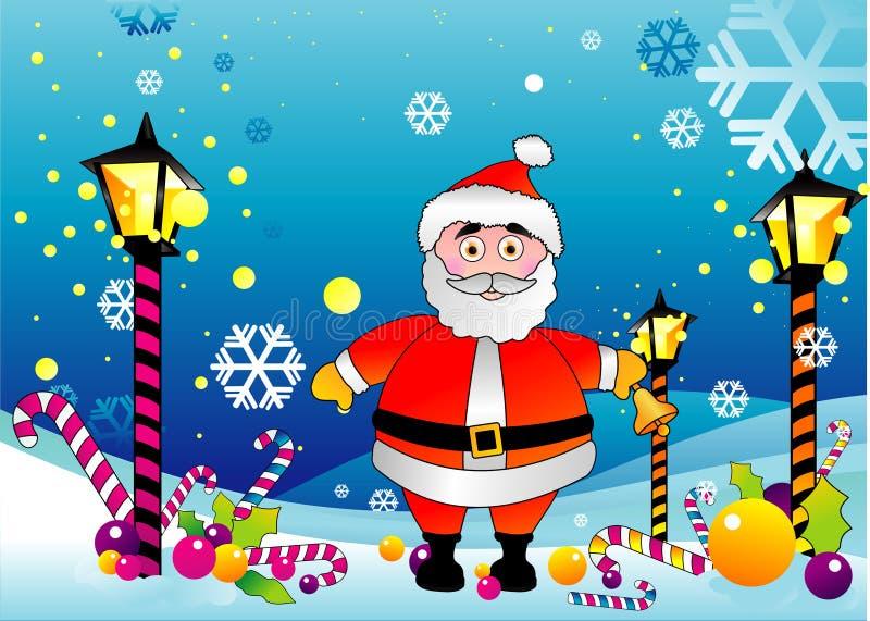 圣诞节圣诞老人向量 向量例证