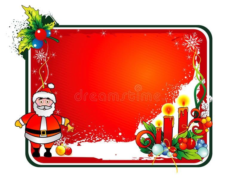 圣诞节圣诞老人向量 皇族释放例证