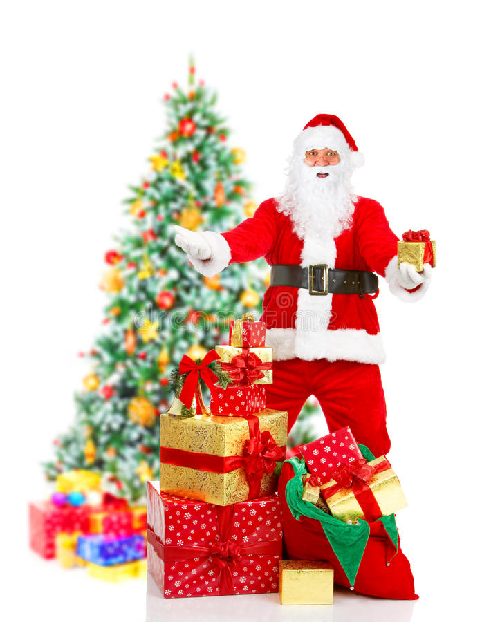 圣诞节圣诞老人 库存照片