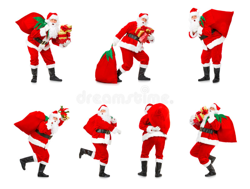圣诞节圣诞老人 免版税库存图片