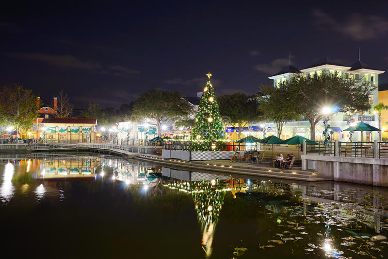 圣诞节在Kissimmee 库存照片