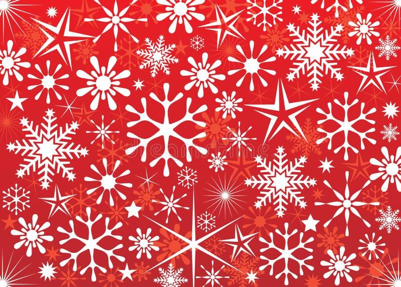圣诞节墙纸 向量例证