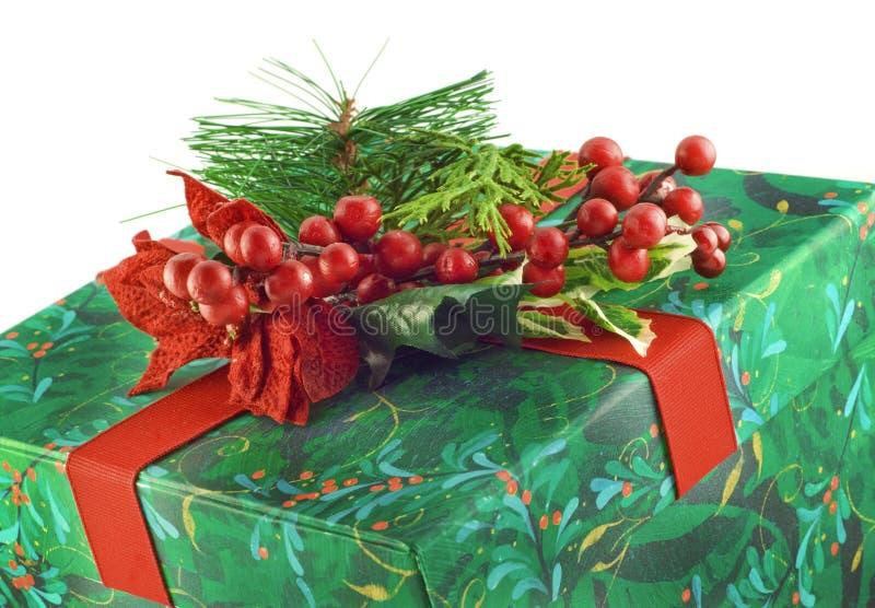 圣诞节复制存在空间白色 库存图片