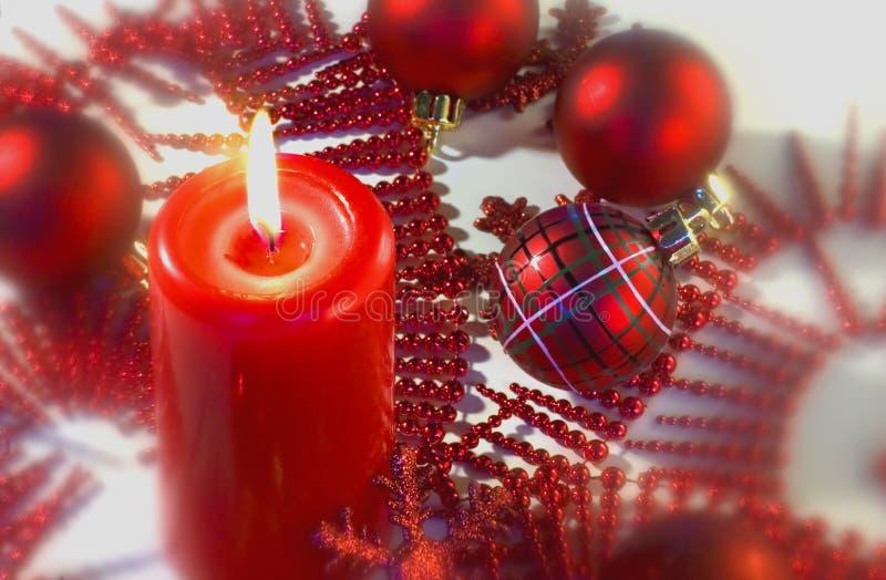 圣诞节夜间 免版税库存图片